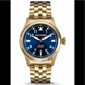 JACK MASON Men's Aviation Bracelet Watch, 42mm